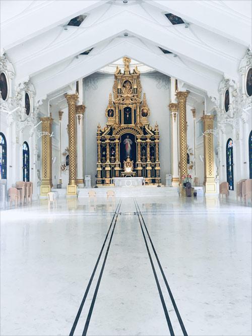 Divine Mercy Church Internal View