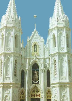 Velankanni Church near Nagapattinum