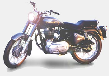 Classic Royal Enfield Bullet
