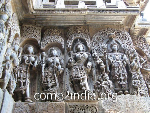 Chennakeshava temple in Belur