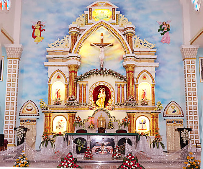 Our Lady of Holy Rosary Basilica Altar