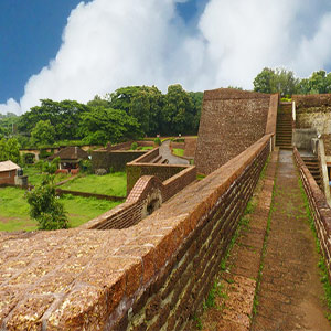 Kannur Fort - Side View