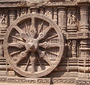 Chariot Wheel in Konark Sun Temple