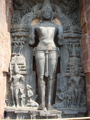 Sun God in Konark Sun Temple