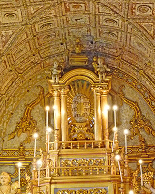 Tabernacle in the Basilica of Bom Jesus